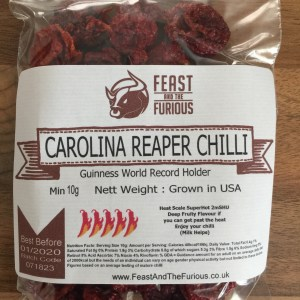 Carolina Reaper Chillies