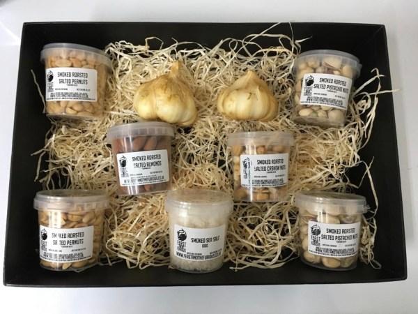 Cold smoke Nuts Gift Box