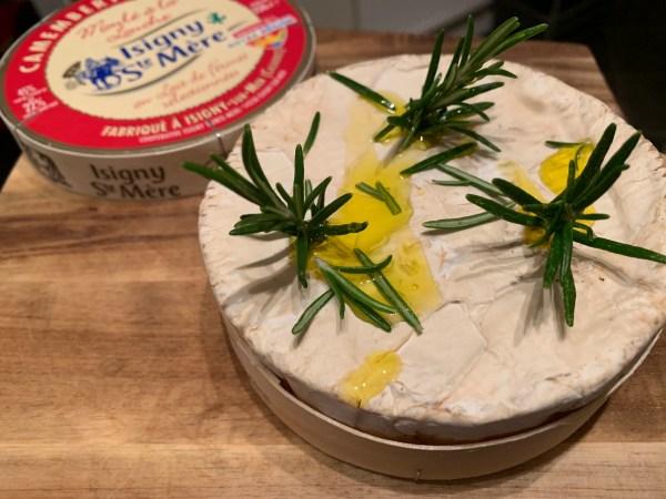 Smoked Camembert Cheese