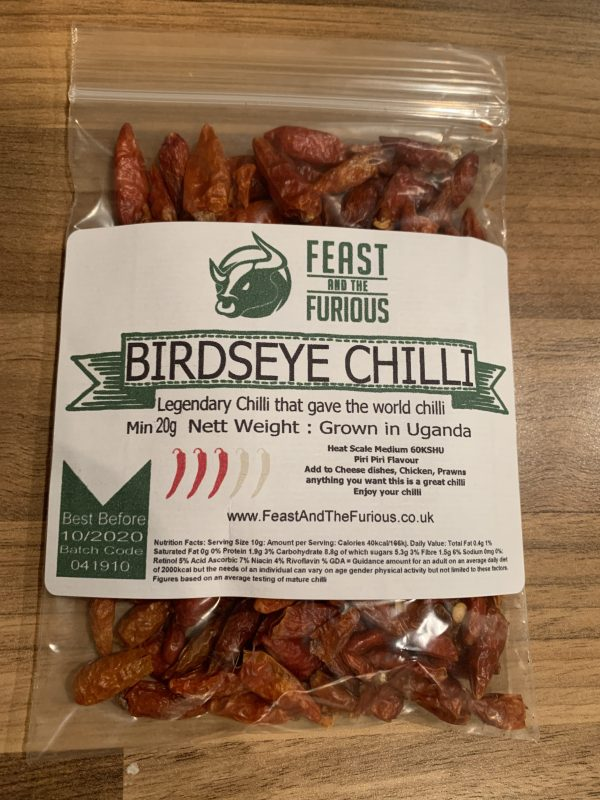 Birdseye Chilli whole