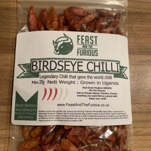 Birdseye Chilli whole