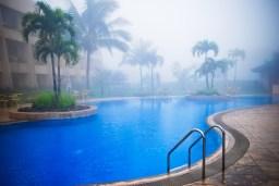 Taal Vista Hotel Tagaytay Pool Deck