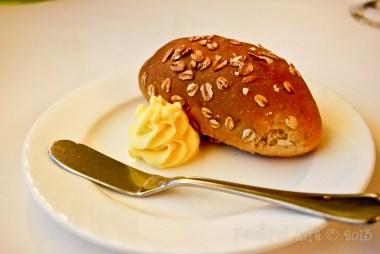 Complimentary : Oatmeal Bread
