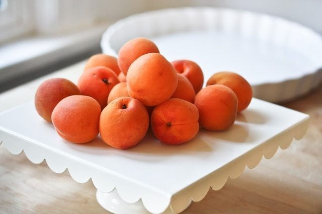 Honey Roasted Apricot Tart with Star Anise...an incredibly delicious recipe you will love.   www.feastingathome.com