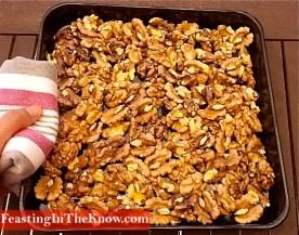 roasted walnuts tray 2
