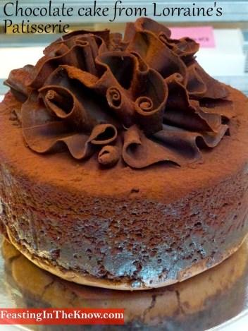 ChocolateCakeLorrainesPatisserie