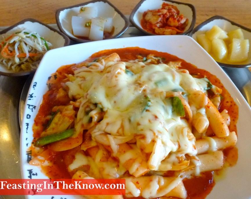 Koreanchilliricecakescheesefoodsavoury