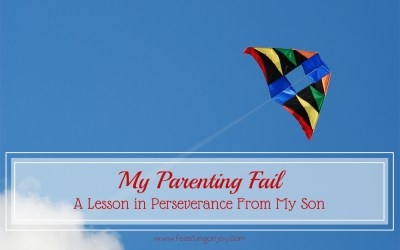 My Parenting Fail: A Lesson in Perseverance From My Son