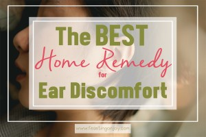 A Home Remedy for Ear Discomfort