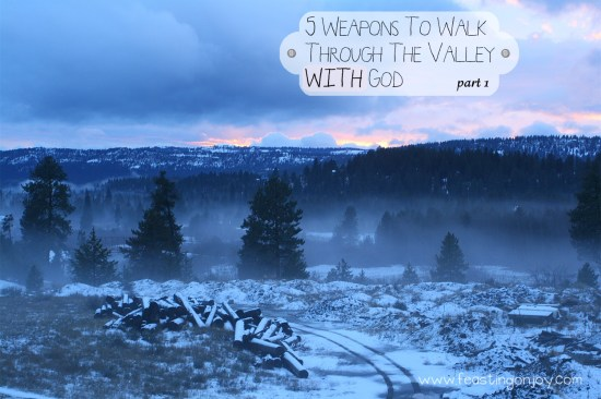 5 Ways To Walk Through The Valley WITH God Part 1