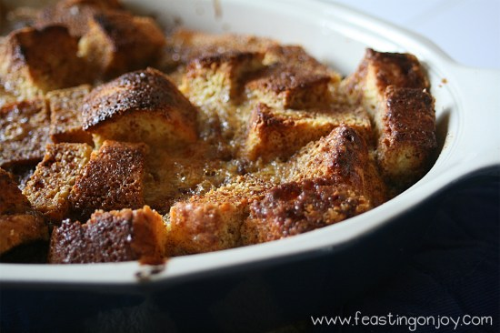 Overnight Baked French Toast Casserole {Grain, Nut, Dairy & Refined Sugar Free} 2 | Feasting On Joy