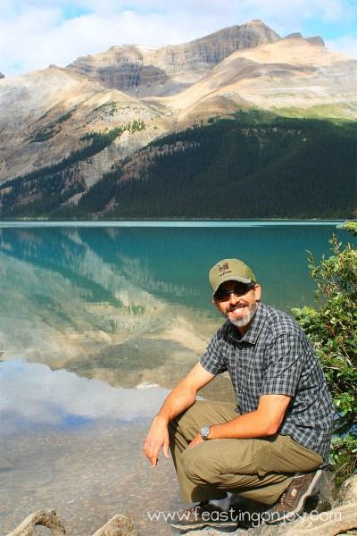 Steve at Lake
