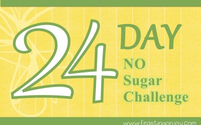 24 Day–No Sugar (even unrefined) challenge!