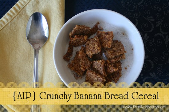AIP Crunchy Banana Bread Cereal