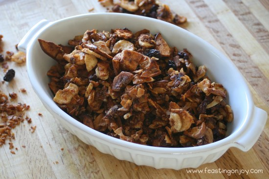 AIP Baked Apple Cinnamon Granola 2