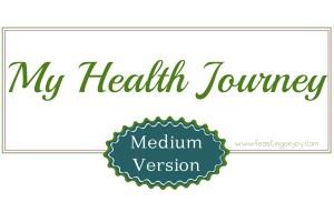 My Health Journey Medium Version