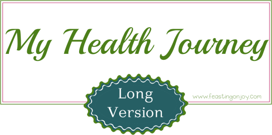 My health journey long version