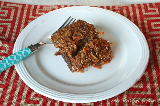 Grain Free Gluten Free Apple Cinnamon Baked Porridge 2 | Feasting On Joy