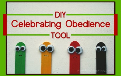 DIY Celebrating Obedience Tool