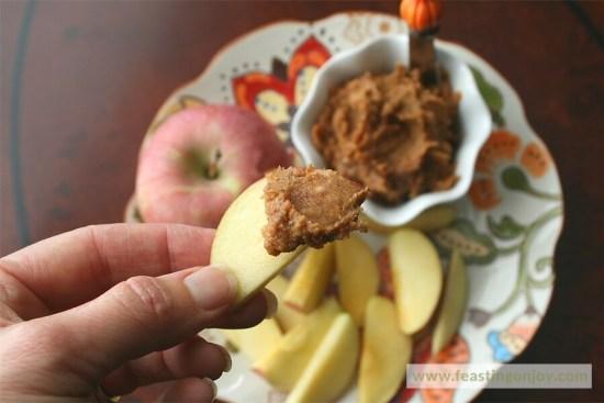 Paleo Pumpkin Apple Spread 2 | Feasting On Joy