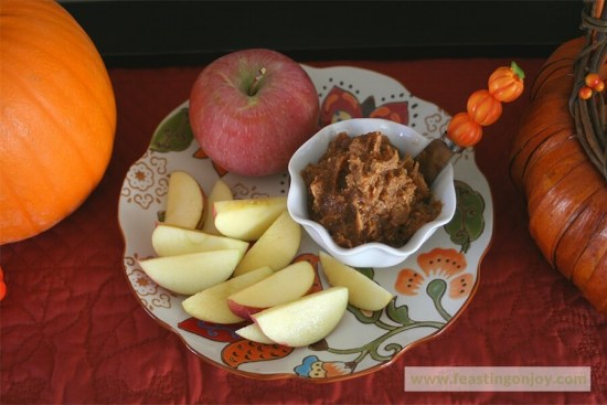 Paleo Pumpkin Apple Spread 3 | Feasting On Joy