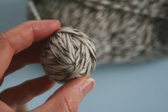 Step-by-Step DIY Dryer Ball Tutorial 10 | Feasting On Joy
