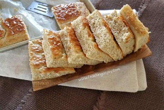 Nut Free Paleo Blender Bread 3 | Feasting On Joy