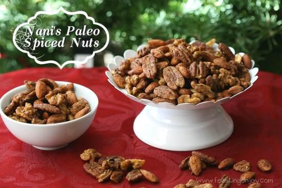 Nani's Paleo Spiced Nuts | Feasting On Joy