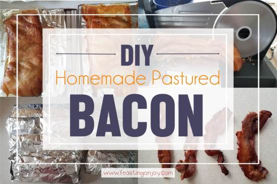 DIY Homemade Pastured Bacon 1 | Feasting On Joy