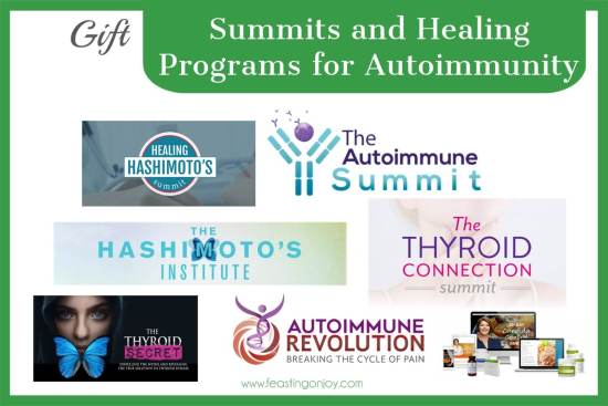 The Colossal Gift Guide for Living the Best Holistic Life Summits and Healing Programs for Autoimmunity | Feasting On Joy