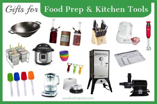 The Colossal Gift Guide for Living the Best Holistic Life {Food Prep and Kitchen Tools} | Feasting On Joy
