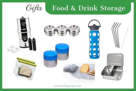 The Colossal Gift Guide for Living the Best Holistic Life {Food and Drink Storage} | Feasting On Joy