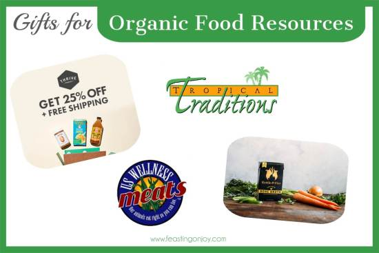 The Colossal Gift Guide for Living the Best Holistic Life {Organic Food Resources} | Feasting On Joy
