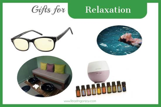 The Colossal Gift Guide for Living the Best Holistic Life {Relaxation} | Feasting On Joy