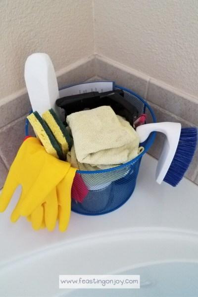 DIY Bathroom Cleaning Kit with Essential Oils 3 | Feasting On Joy