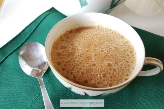 AIP Creamy Butter Coffee {Dairy Free} 3 | Feasting On Joy