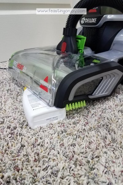 Healthy DIY Carpet Cleaning { With a Machine} 5 | Feasting On Joy