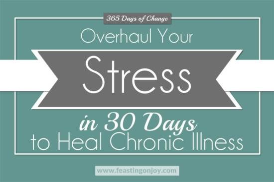 365 Days of Change: Overhaul Your Stress in 30 Days to Heal Chronic Illness 1 | Feasting On Joy
