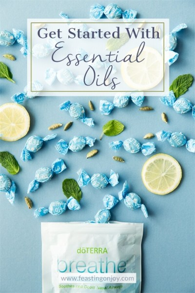 Get Started with Essential Oils | FeastingOnJoy Oils