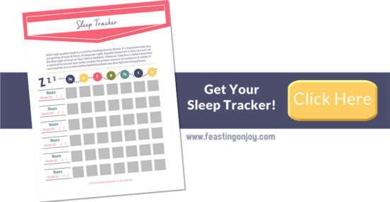 Get Your Sleep Tracker | Feasting On Joy
