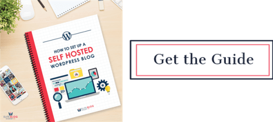 Get the How to Set Up a Self Hosted WordPress Site Guide | Feasting On Joy