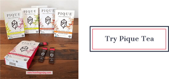Try Pique Tea | Feasting On Joy