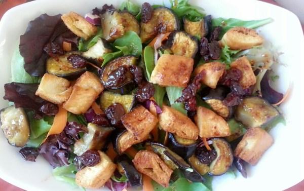 Tasty next day salad
