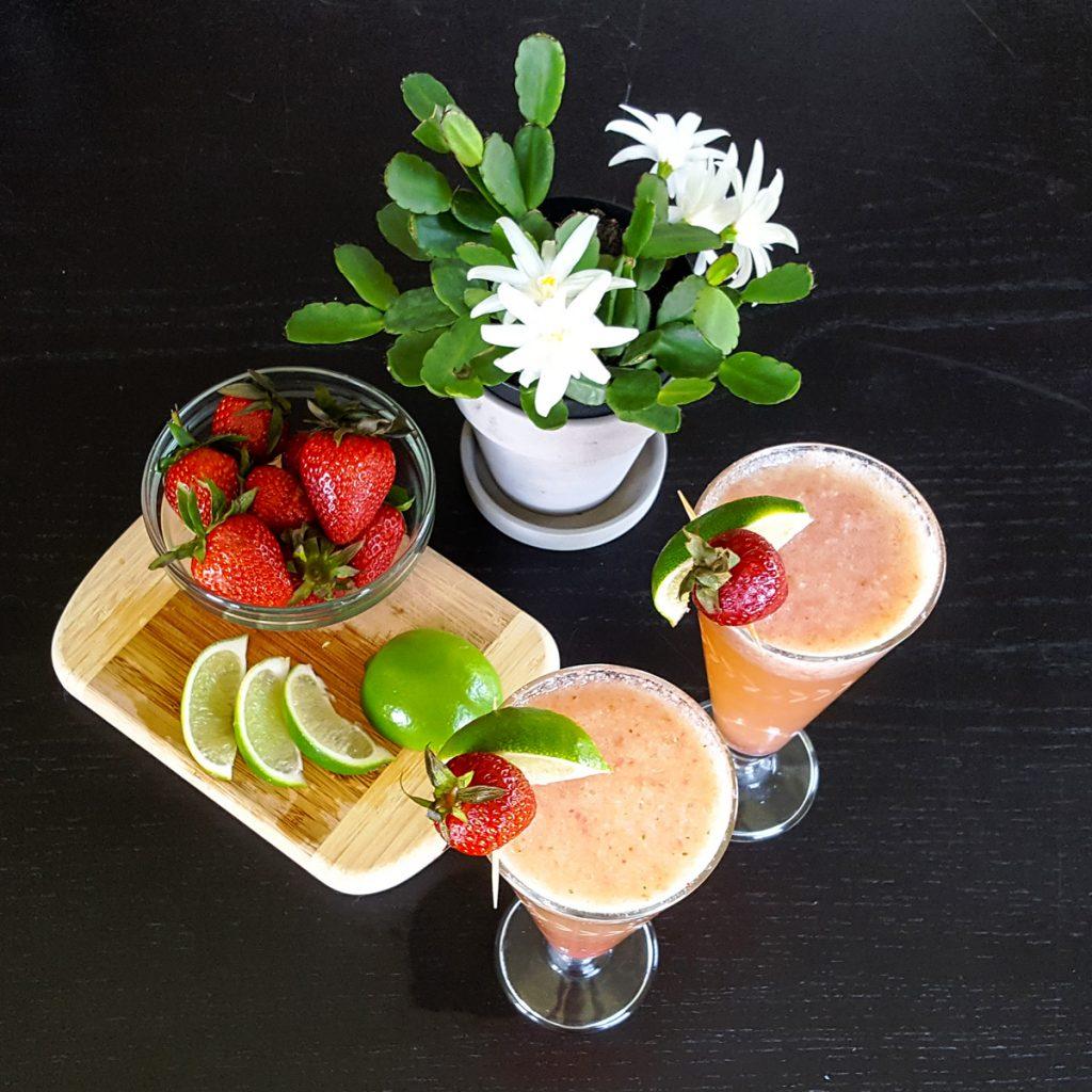 Strawberry Daiquiri Bellini   Feast In Thyme