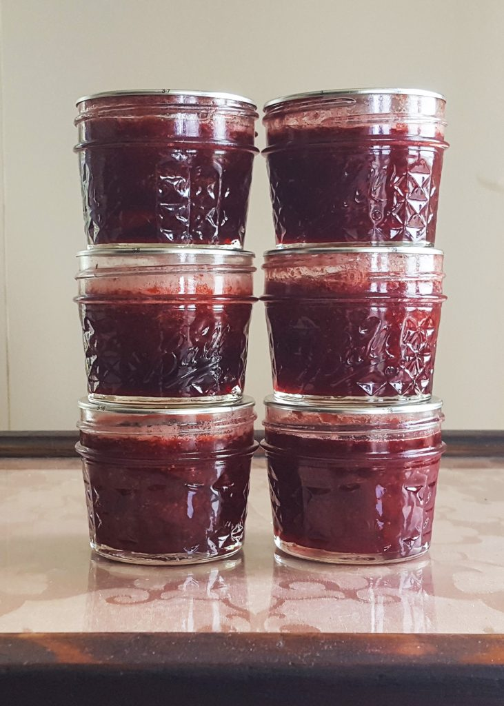 Honey Rum Strawberry Jam | Feast In Thyme