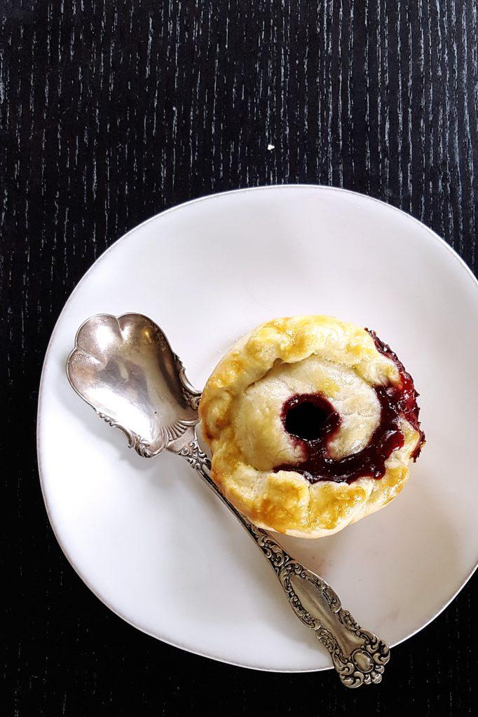 Mini Rum Plum Cherry Picnic Pies | Feast In Thyme