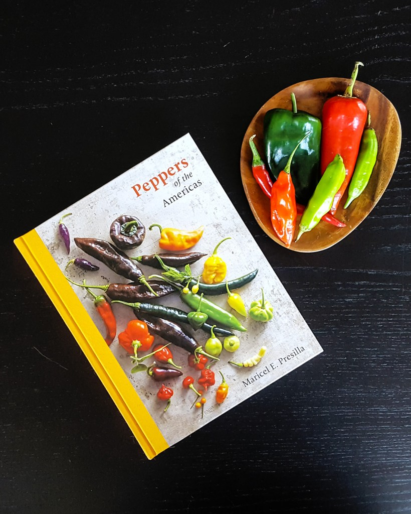 From award-winning chef & culinary historian Maricel E. Presilla, Peppers of the Americas is a comprehensive guide to an illustrious ingredient beloved the world over. Read on for a full review! | FeastInThyme.com