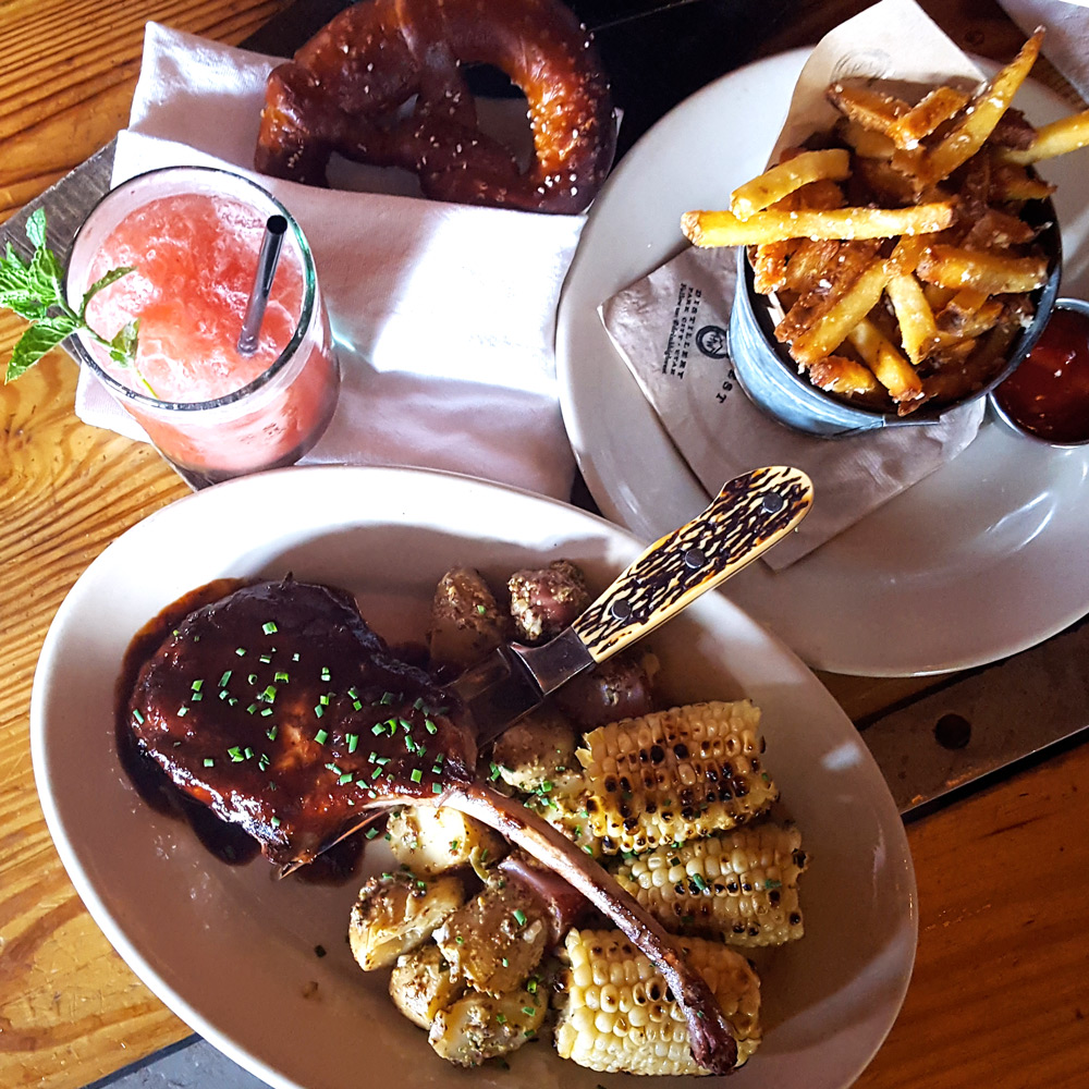 Lunch at High West Distillery in Park City, Utah | FeastInThyme.com