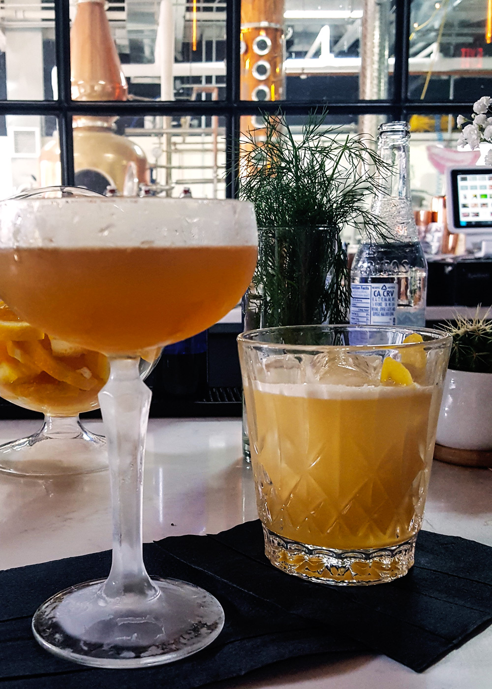 Located in the seashore city's growing downtown, Asbury Park Distilling Co. is quickly gaining praise for both its handcrafted spirits and artisanal cocktails, all made in house with locally sourced ingredients. | A Review from FeastInThyme.com