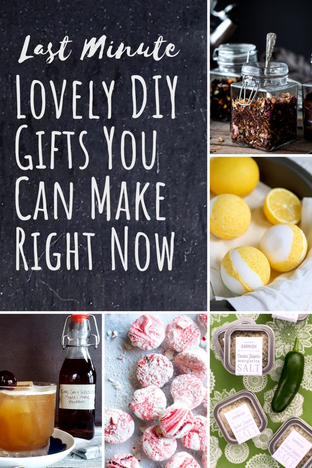 Last Minute Lovely DIY Gifts You Can Make Right Now